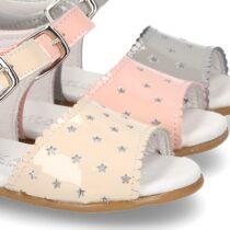 Sandale cu steluțe