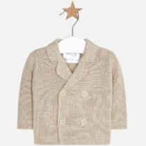 Jacheta tricot crem Mayoral