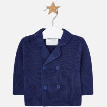 Jacheta tricot bleumarin Mayoral