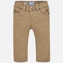 Pantaloni elastan bebe baiat Slim fit Mayoral