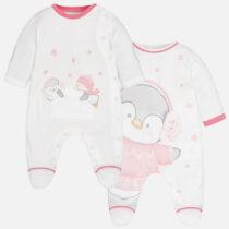 Set 2 pijamale interlock bebe Mayoral