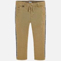 Pantaloni chino benzi laterale baiat Slim fit Mayoral
