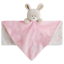 Gugu jucarie cu paturica pentru bebe roz Bebe