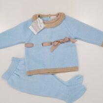 Costumas 2 piese albastru Guti-Baby