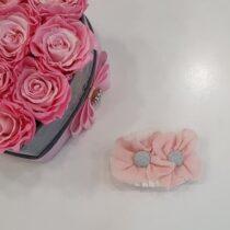 Clama par roz cu floricele Basmarti
