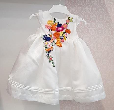 Rochita Botez Organza Innocence Little Rose
