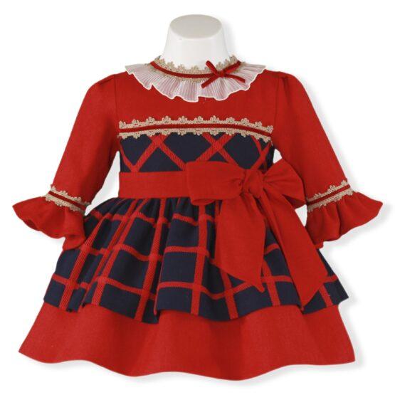 Rochita rosie carouri Miranda Textil