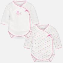 Set 2 body-uri maneca lunga bebe fetita Mayoral