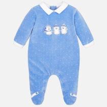 Pijama cu imprimeu bebe baiat Mayoral