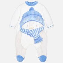 Pijama pinguin bebe baietel Mayoral
