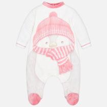 Pijama pinguin bebe fetita Mayoral