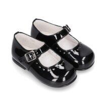Pantofiori negri Okaa