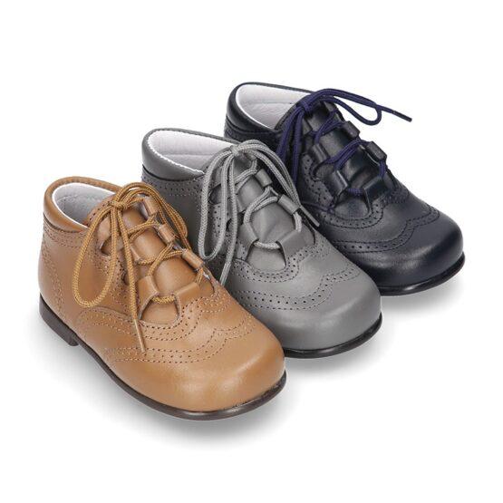 Pantofi baieti gri Okaa