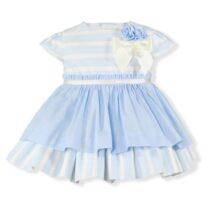 Rochita albastra cu dungi Miranda Textil