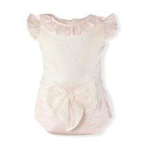 Costumas roz cu buline Miranda Textil