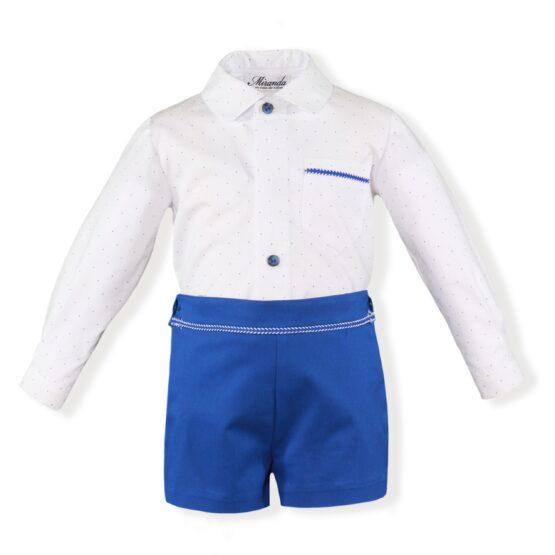 Costumas albastru marin baiat Miranda Textil