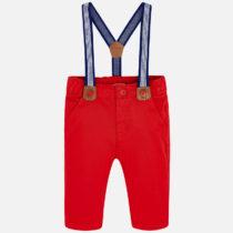 Pantaloni lungi cu bretele bebe nou-nascut Mayoral