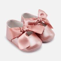 Balerini ceremonie bebe nou-nascut roz Mayoral