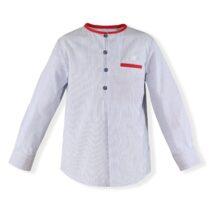 Camasa in dungi alb cu albastru Miranda Textil