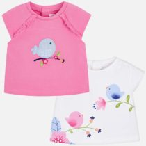 Set tricouri cu maneca scurte bebe Mayoral