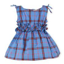 Rochie albastra cu dungi rosii Miranda