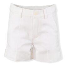 Pantalon scurt baiat alb Miranda