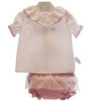 Set 2 piese bebe roz MP