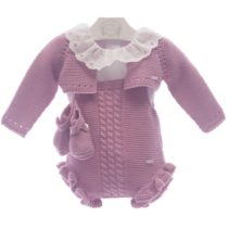 Set 4 piese bebe tricot MP