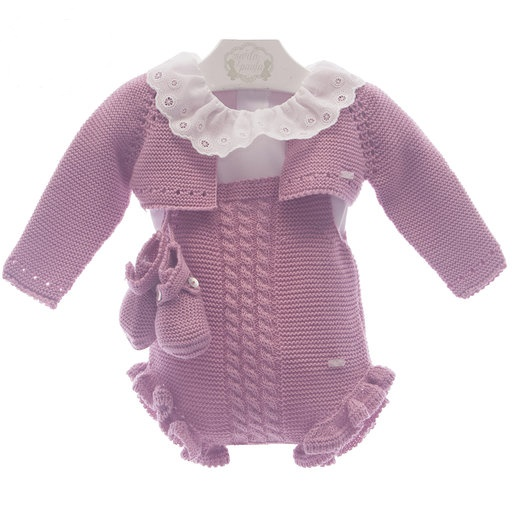 Set 4 piese bebe tricot MP