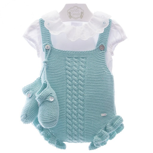Set 3 piese bebe din tricot MP
