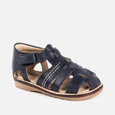 Pantofi piele bebe baiat Mayoral