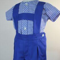 Costumaș bebe albastru închis Basmarti