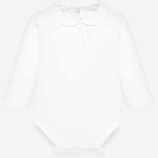 Body cămașă fetiță alb Mayoral