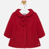 Palton fundițe roșu fetiță Mayoral