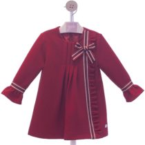Rochie roșie cu fundiță tip A YD