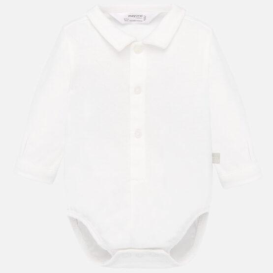 Body guler cămașă alb Mayoral