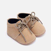 Pantofiori bebe băiat crem Mayoral