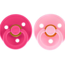 Set 2 suzete roz Bibs