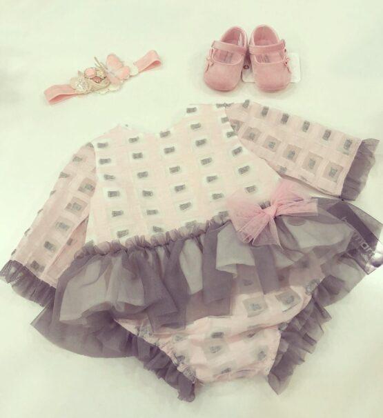 Compleu fetiță roz Basmarti