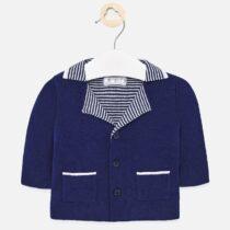 Jachetă bleumarin combinată băiat Mayoral