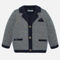Jachetă bleumarin în contrast Mayoral