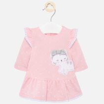 Rochie desen pisicuță roz bebe fetiță Mayoral