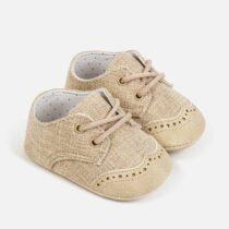 Pantofi crem eleganti nou-nascut Mayoral