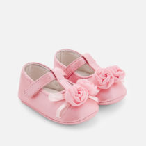 Balerini roz flori nou-nascuta Mayoral