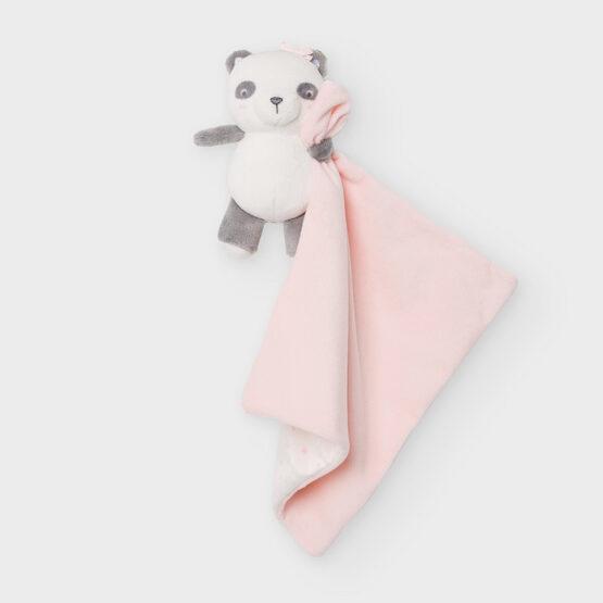 Ursuleț roz Gugu cu păturică