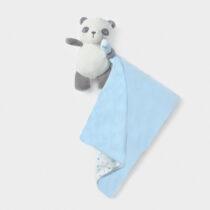 Ursuleț albastru Gugu cu păturică