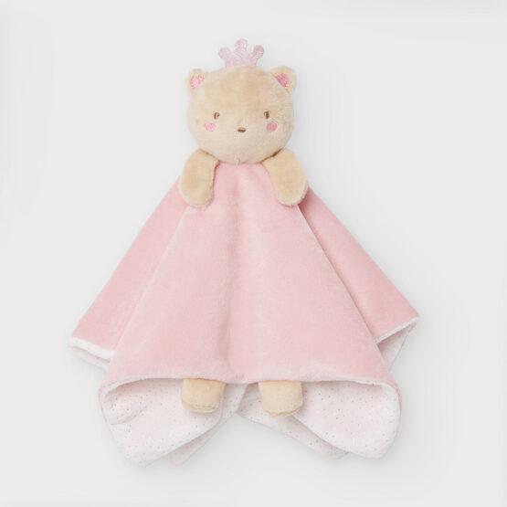 Jucărie Gugu roz cu păturică