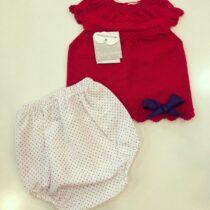 Compleu roșu din tricot, Guti-Baby