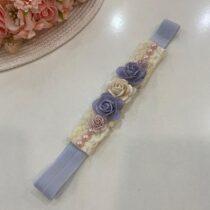 Bentiță elegantă cu floricele