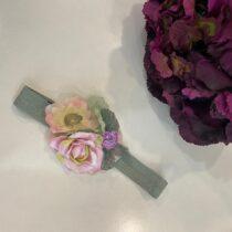 Bentiță princess cu flori